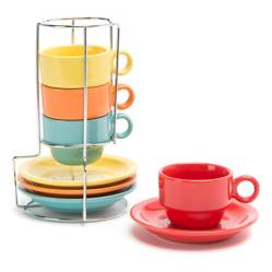 MICA - Rack Mug y Plato  Colors 4
