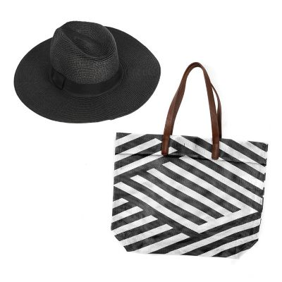 PACK BOLSO SOMBRERO BLACK