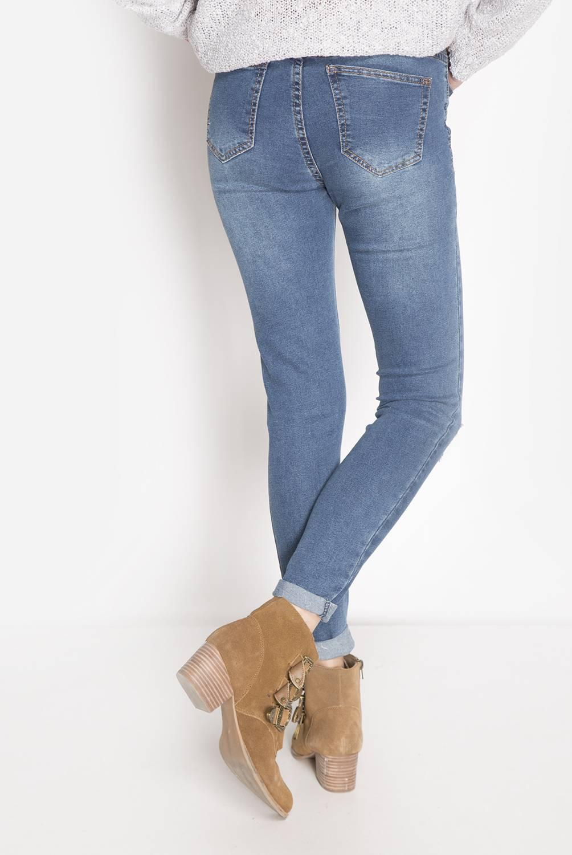 SYBILLA - Pantalón Skinny Mujer