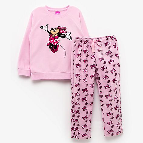 73ab906fd Pijama Polar para Niña Minnie Bowtique - Falabella.com