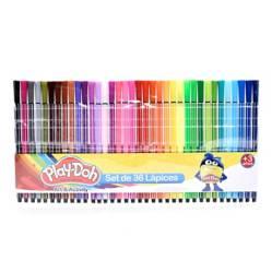 PLAY DOH - Plumones de Colores x 36