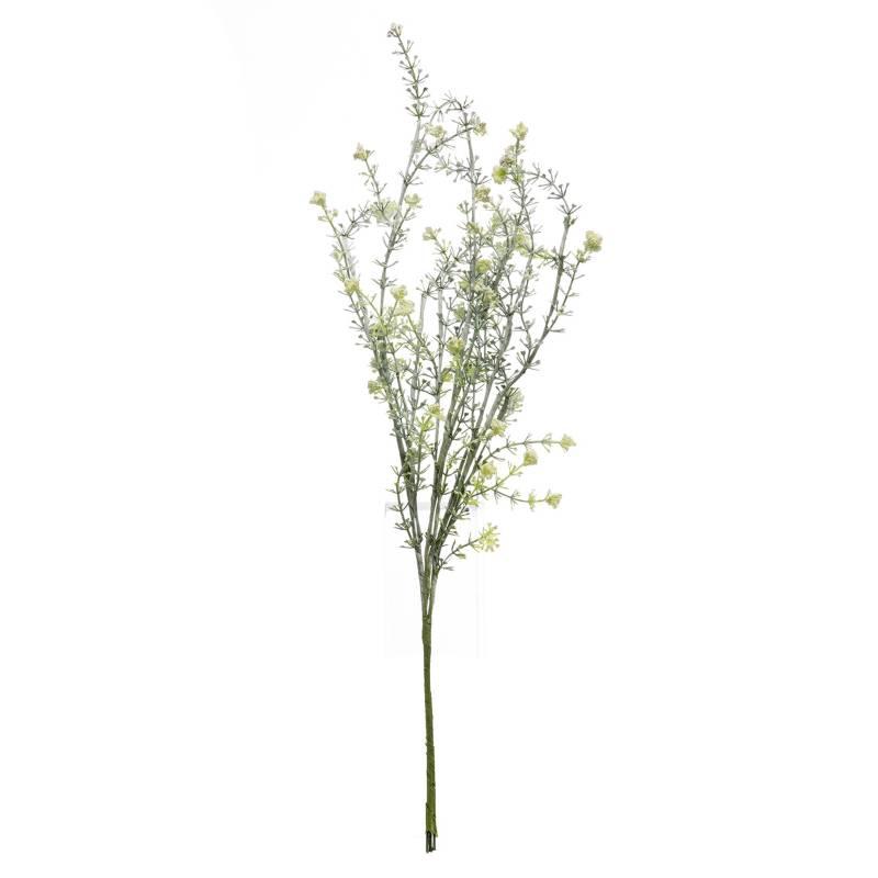 MICA - Flor Ramas Hojas 55 cm