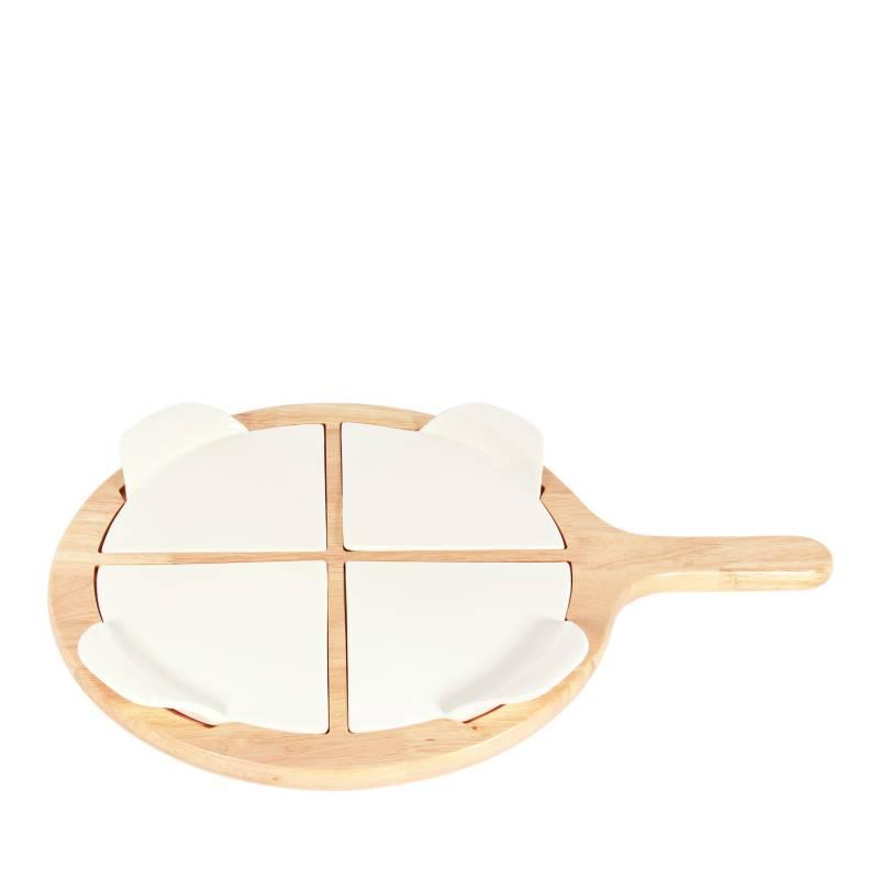 MICA - Tabla para Pizza + Cortador