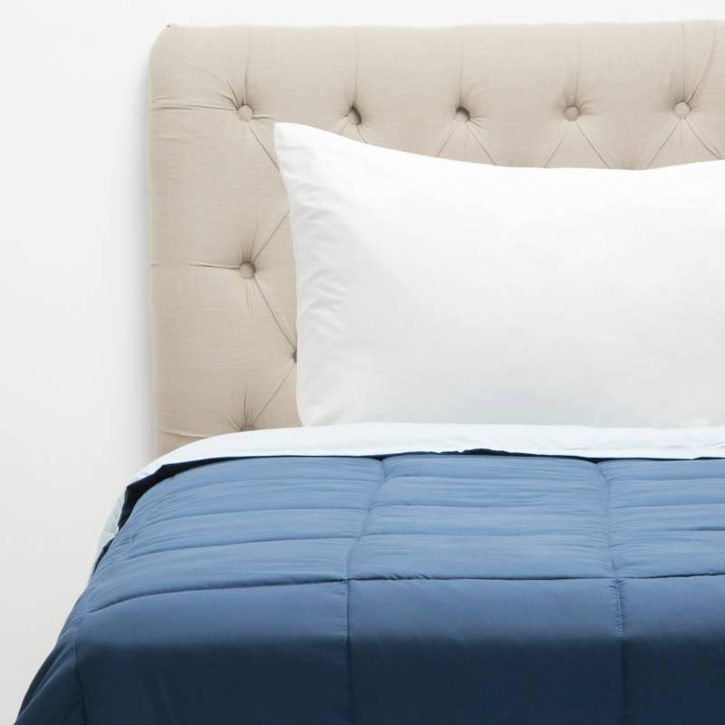 MICA - Edredón Bicolor Azul/Celeste