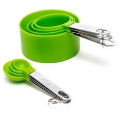 MICA - Set x8 Cuchara Verde