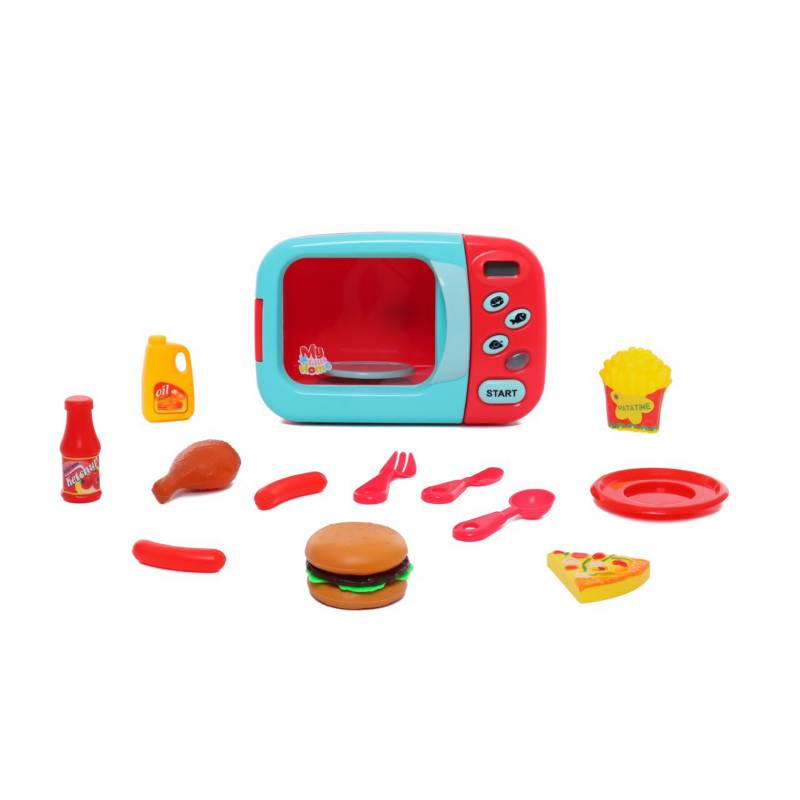 MY LITTLE HOME - Set Microondas con Hamburguesa
