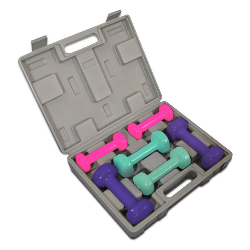 Bodytone - Kit Pesas Neopreno: 2P 0.5K/ 2P 1K/ 2P 1.5K