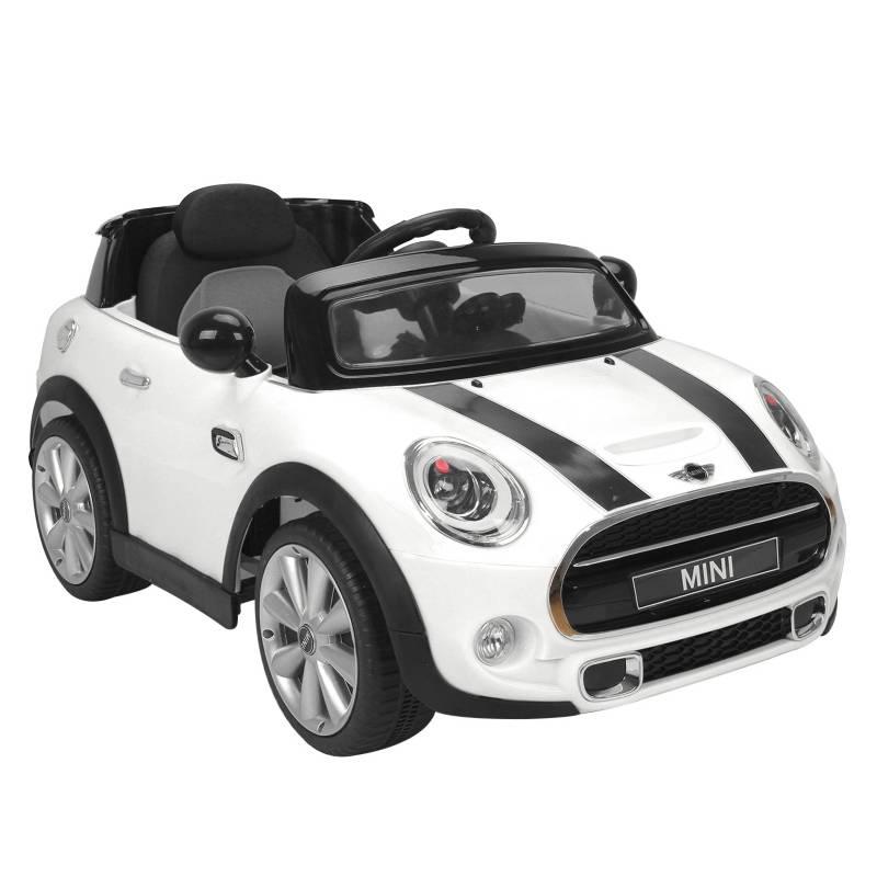 MINI - Auto a Batería Mini 6v Blanco