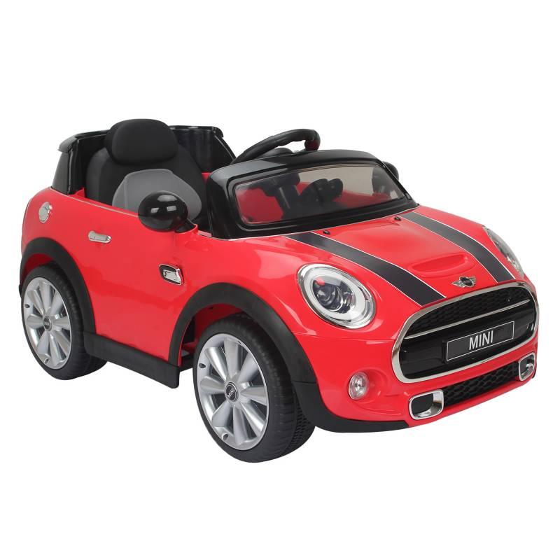 MINI - Auto a Batería Mini 6v Rojo