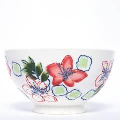 ROBERTA ALLEN - Bowl Flori Blanco