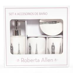 ROBERTA ALLEN - Set Accesorios de Baño Paris