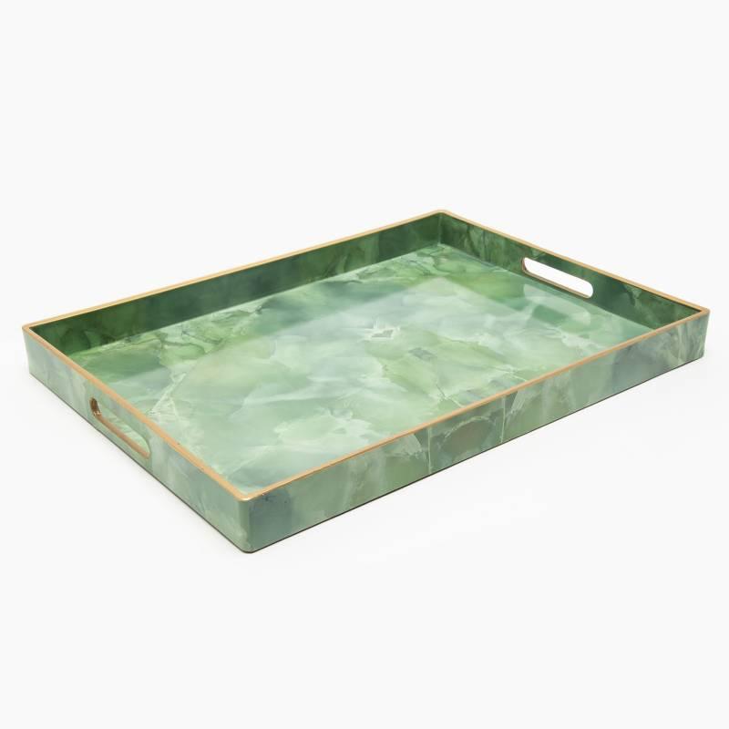 MICA - Bandeja Marmol Verde