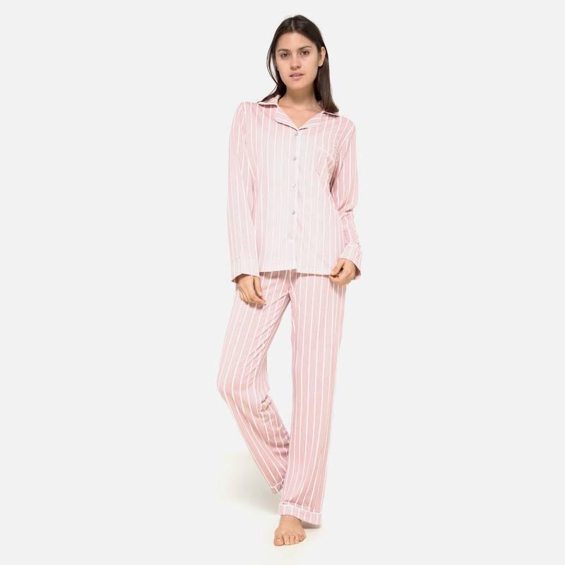 UNIVERSITY CLUB - Pijama Viscosa Camisa (T)