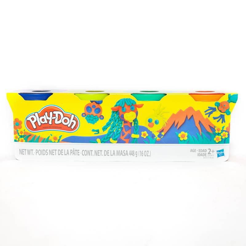 PLAY DOH - Play Doh Pack X 4