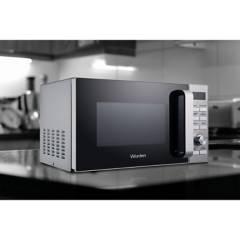 WURDEN - Horno Microondas 20Lts 1200W 20D Silver