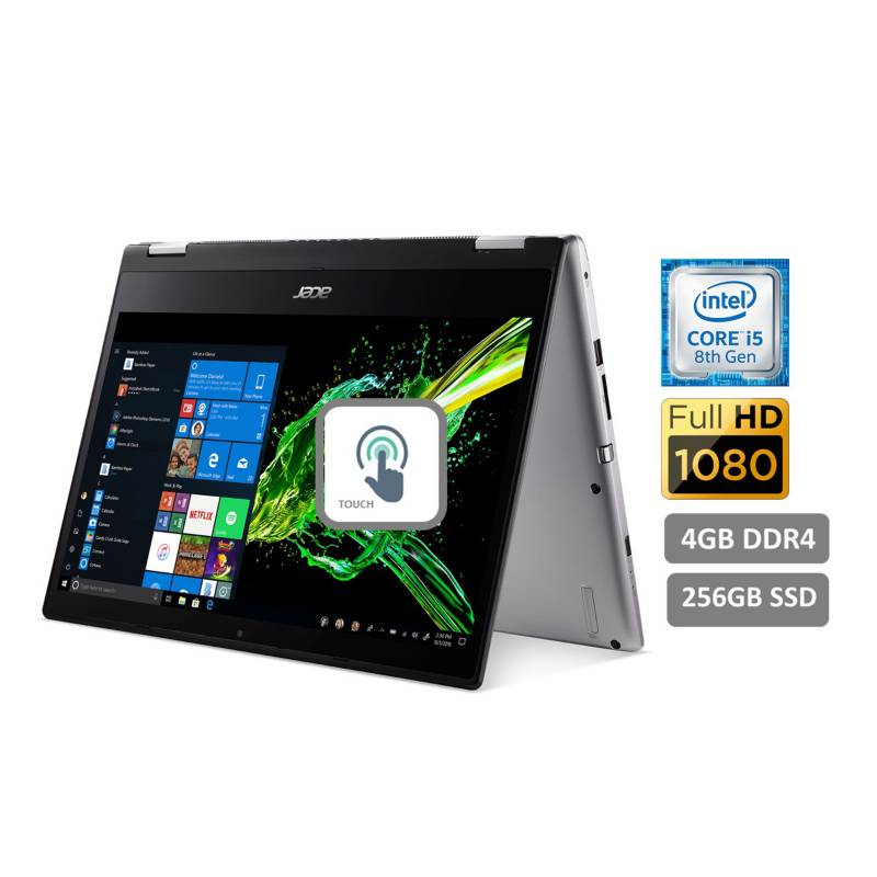 "ACER - Laptop 2En1 Spin 3 SP314-52-5964 14""Core i5 4GB 256GB SSD"