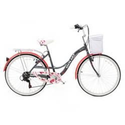 Bicicleta Mujer Cabo Blanco Grafito - aro 26