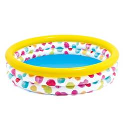 INTEX - Piscina con Aro Inflable Cool Dot