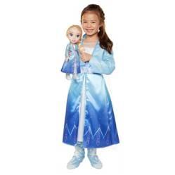 FROZEN - Muñeca + Disfraz Elsa