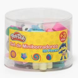PLAY DOH - Set 30 Miniborradores de Flores