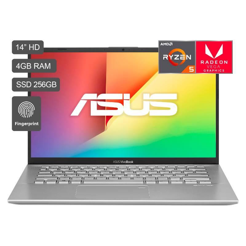 "ASUS Laptop VivoBook 14"" Ryzen 5 256GB SSD 4GB RAM - Pantalla HD ..."