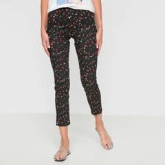 BASEMENT - Pantalón Slim Mujer Basement