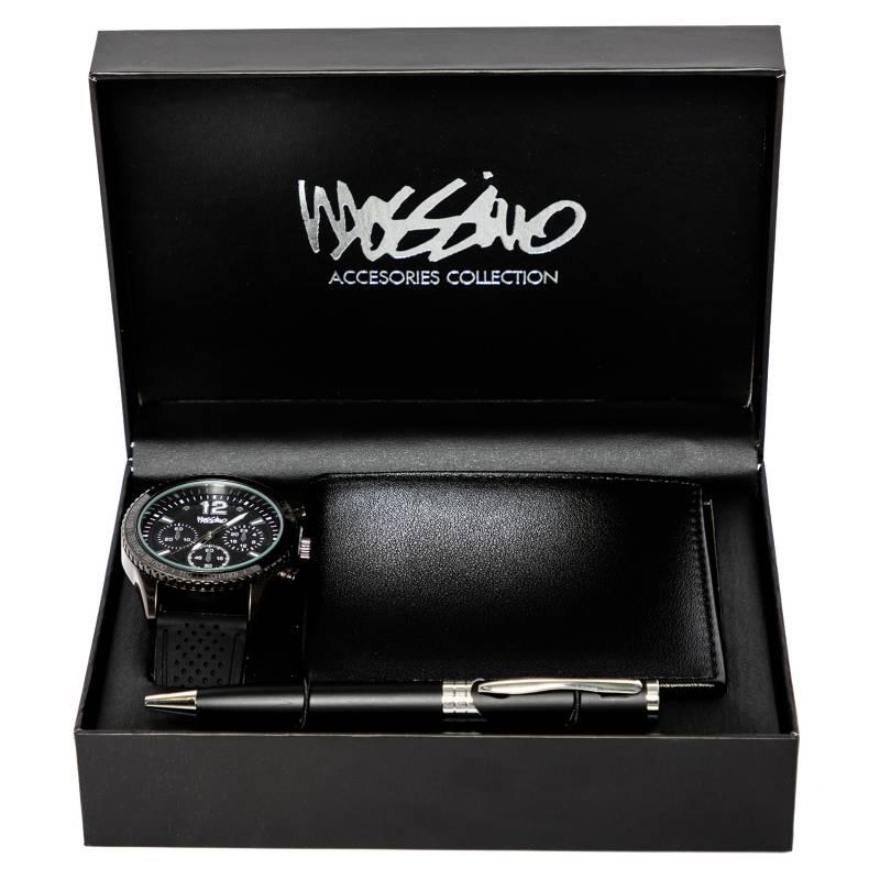 MOSSIMO - Set Reloj Lapicero Billete