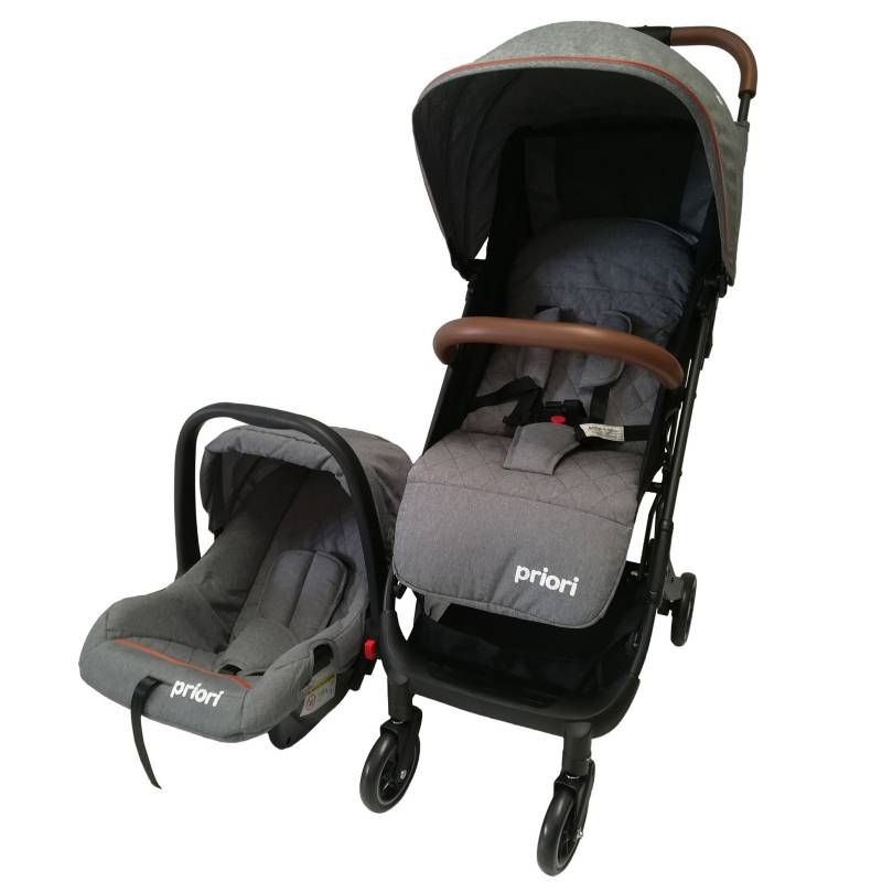 PRIORI - Coche Travel System Trip Grey