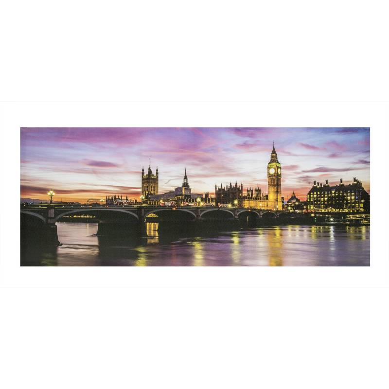 MICA - Canvas Hoja 50x50x2.5cm