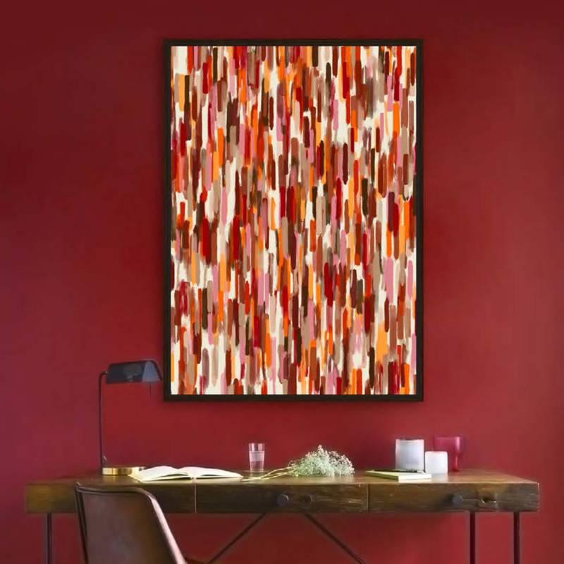MICA - Canvas Lineas 100x140cm