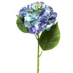 MICA - Flor Hydrangea Azul 55cm