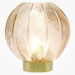 MICA - Lámpara Redonda Burdeo 20cm