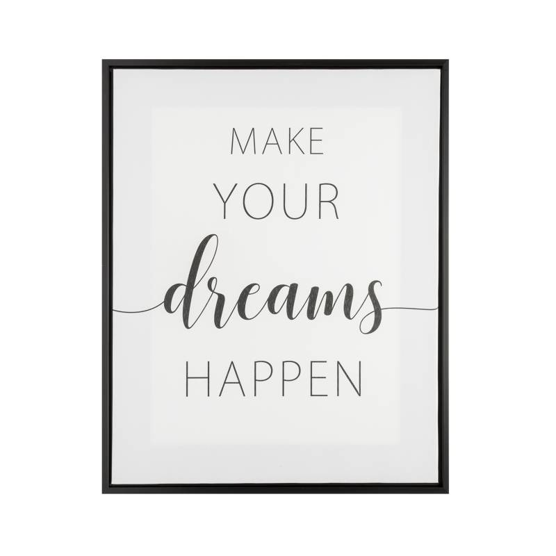 MICA - Canvas Frase Dreams 40x50cm