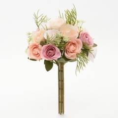 MICA - Bouquets Rosas Mix 28cm