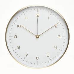 Reloj Dorado Blanco 31cm