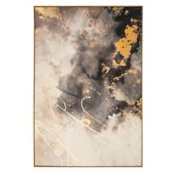 MICA - Canvas Dorado y Gris 100x140cm