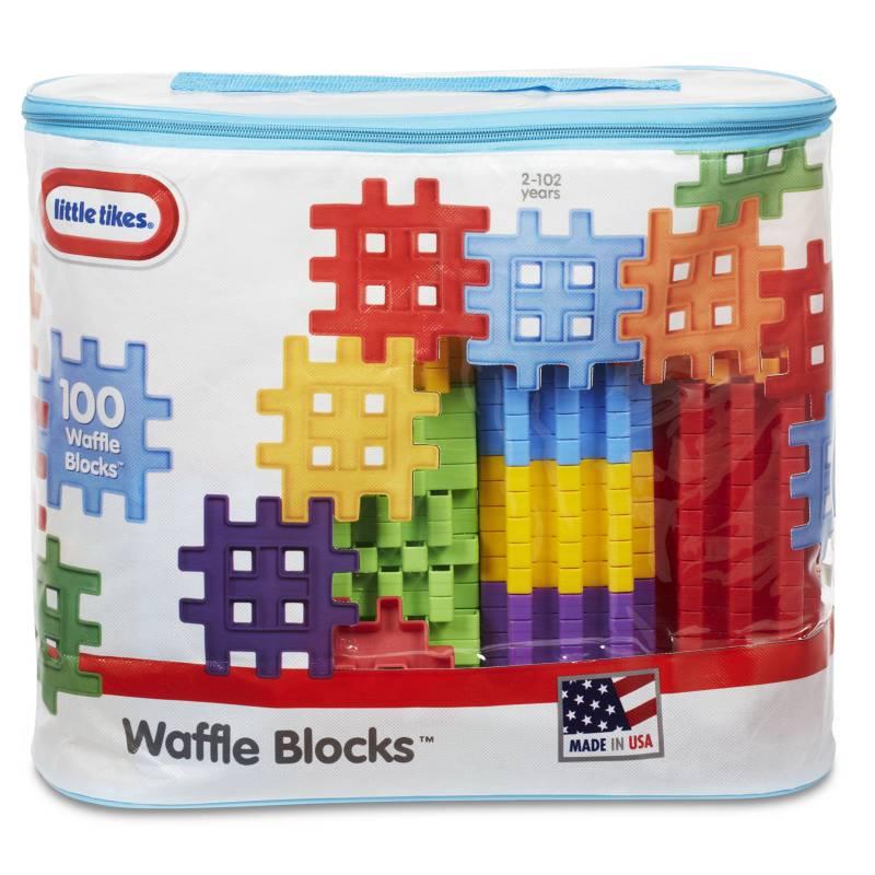 LITTLE TIKES - Bolso Waffle 100 Pzas