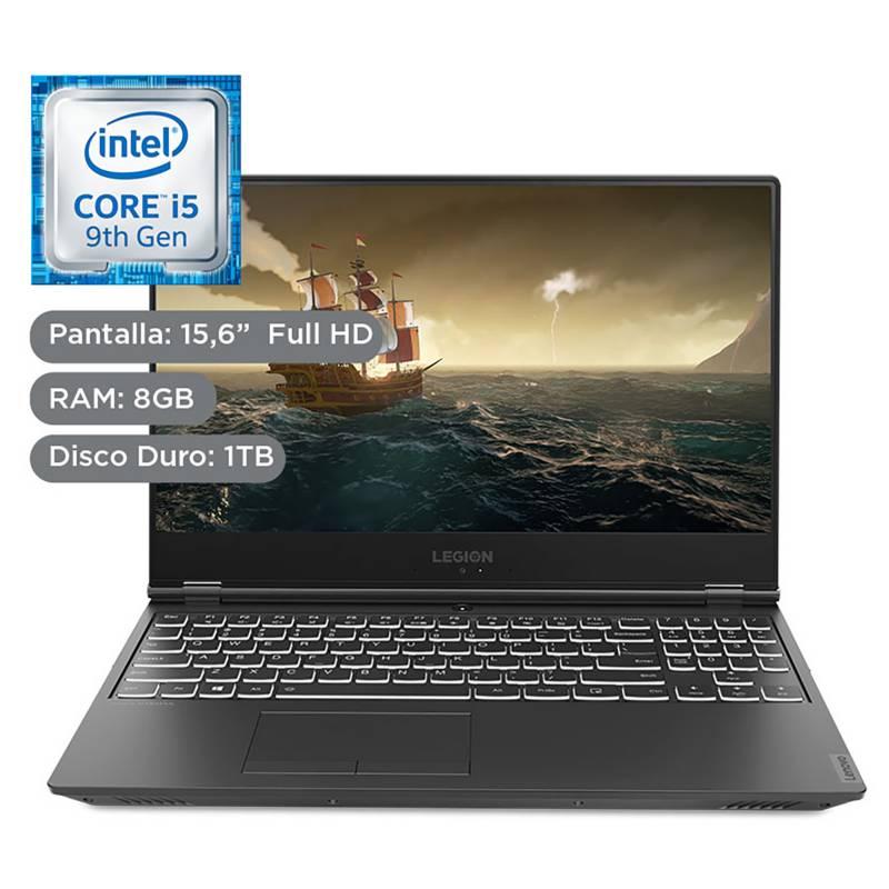 "LENOVO - Laptop Gamer Legion Y540 15.6"" Core i5 9vna Gen 8GB RAM 1TB+128GB SSD + 4GB Video Nvidia GTX 1650"