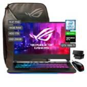 "ASUS - Laptop Gamer ROG Strix Scar III 15.6"" Core i7 1TB HDD+256GB SSD 16GB RAM + 6GB Video Nvidia GTX1660Ti"