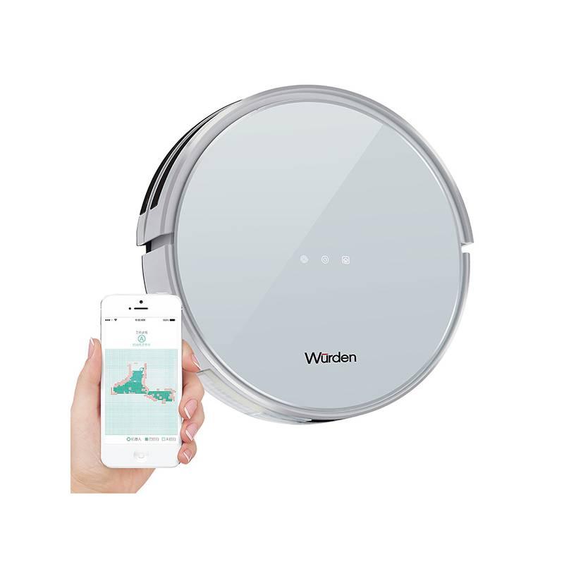 WURDEN - Aspiradora robot con mopa y app WRB-ROLLEN100