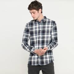 BEARCLIFF - Camisa Manga Larga Hombre