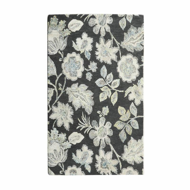 BASEMENT HOME - Alfombra de Lana Floral Gloss 200X290cm