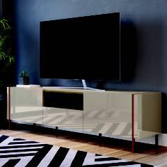 """BASEMENT HOME - Mesa de TV 65"""" Vesta"""
