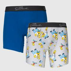 THE SIMPSONS - Boxer Pack x2 Hombre