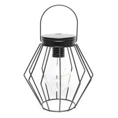 MICA - Lámpara Led Rombo Negro cm