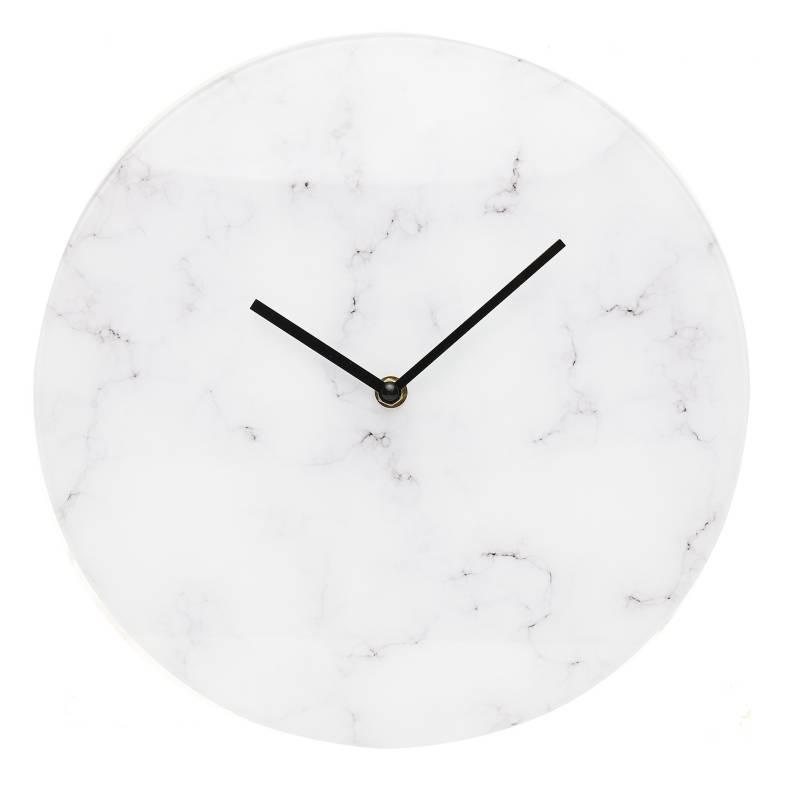 MICA - Reloj de Pared Gris 30x30cm