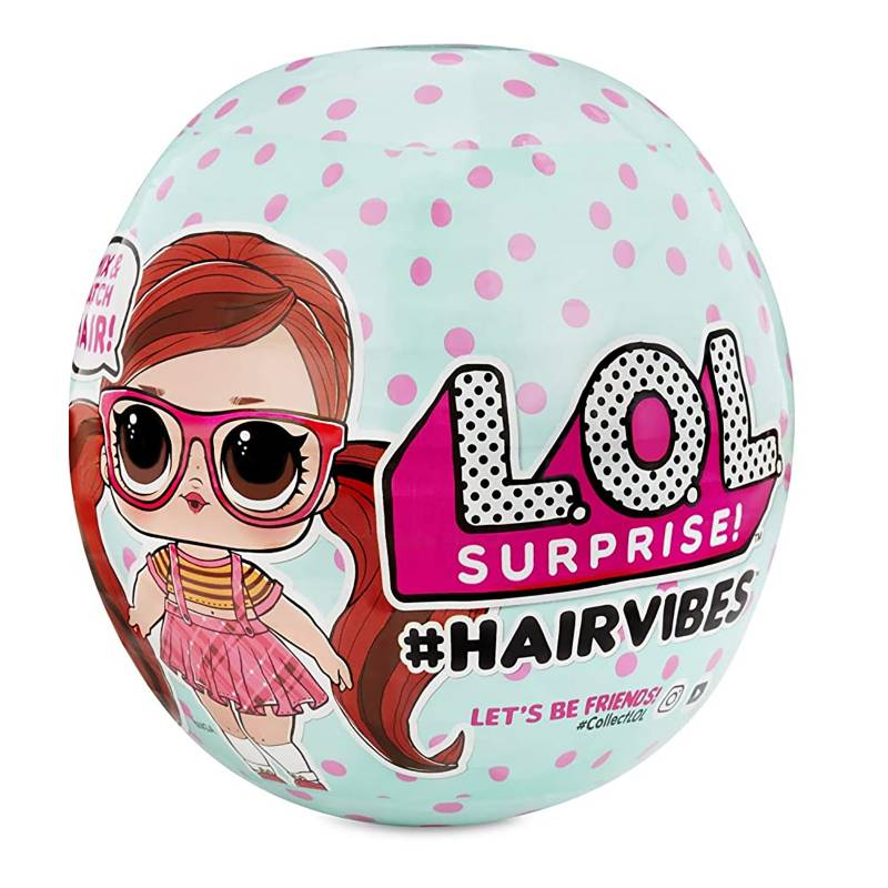 LOL - Muñeca Sorpresa #Hairvibes Tots