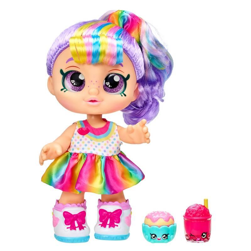 KINDI KIDS - Muñeca Rainbow Kate