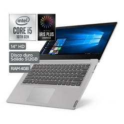 "LENOVO - Laptop 14"" IdeaPad S145 Core i5 10ma Gen 4GB RAM 512GB SSD"