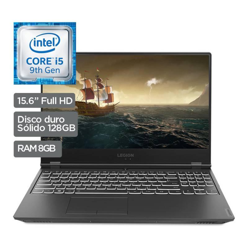 """LENOVO - Laptop Legion Y540 15.6"""" 8GB RAM 1TB HDD + 128GB SSD"""
